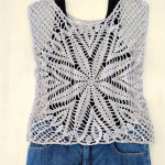 Crochet Blouse With Star In The Center
