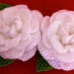 Crochet Camelia Flower