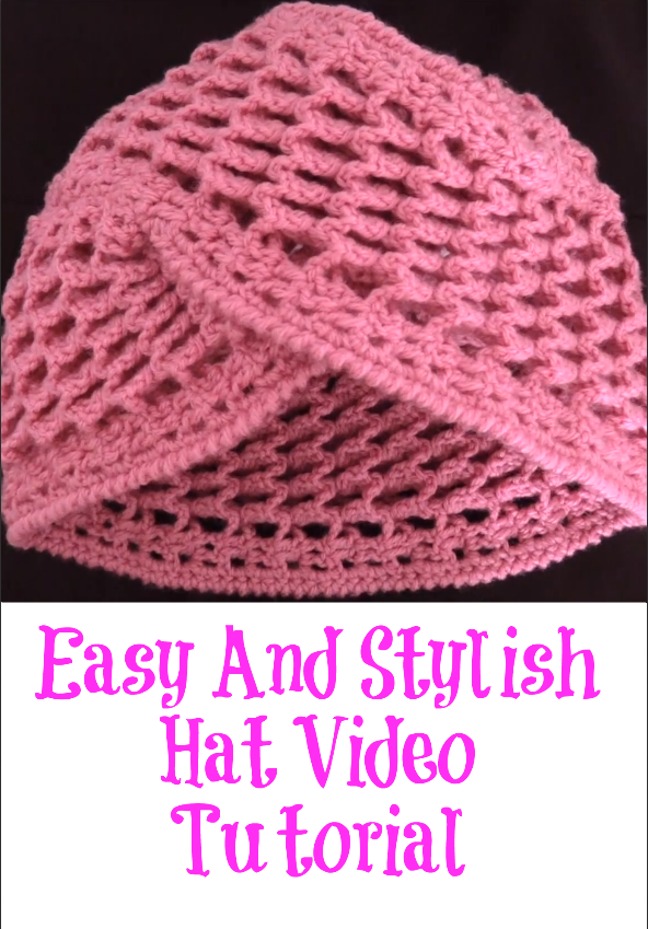 easy and stylish hat
