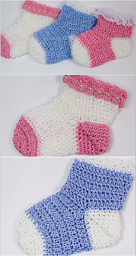 fast and easy baby socks