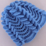 Crochet 3 D Hat With Butterfly Braids
