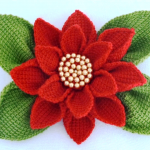 How To Make Poinsettia Flower
