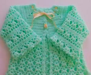 Crochet Lovely Baby Sweater