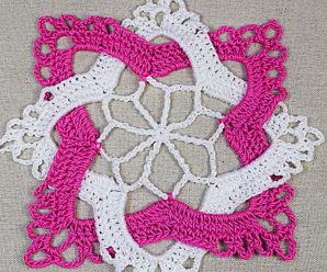 Fast And Easy Interlaced Granny Square