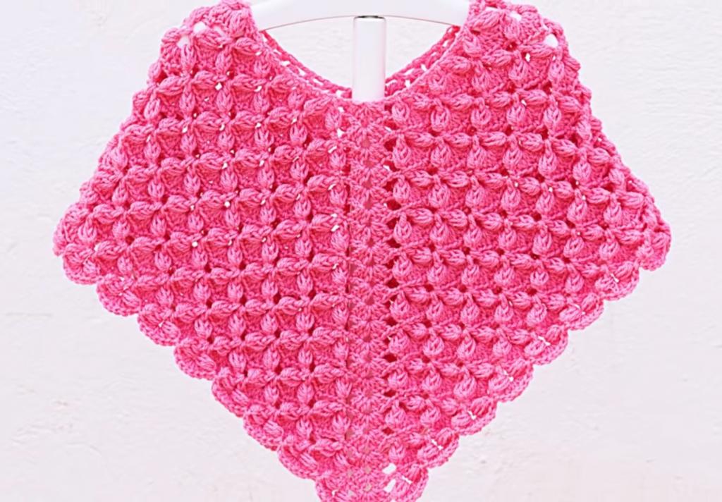 0c50e06e9 Crochet Fast And Easy Star Stitch Baby Poncho - Crochet Ideas