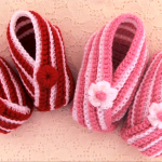 Crochet Fast And Easy Baby Booties