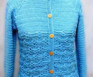 Crochet Stylish Sweater For Women