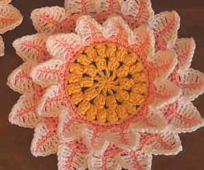 Crochet Adorable Flower