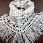 Crochet Peruvian Stitch Scarf