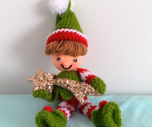 Crochet Christmas Elf