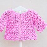 Crochet Baby Girl Jacket