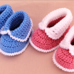 Crochet Lovely And Comfortable Baby Shoes