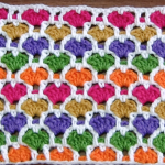 Crochet Reversible Heart Stitch