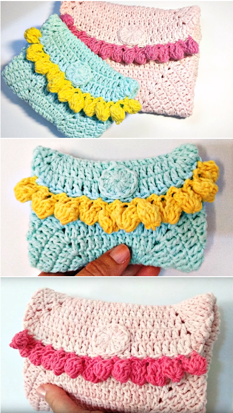 crochet lovely handbag