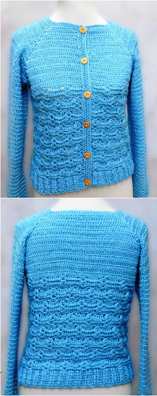 crochet stylish sweater for women
