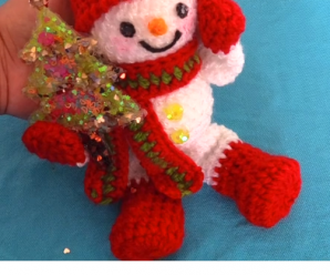 How To Crochet Lovely Snowman