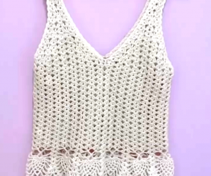 Crochet Fast And Stylish Top