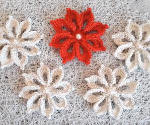 DIY Crochet Lovely Flower Video Tutorial