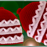 Crochet 3 D Hat For Christmas