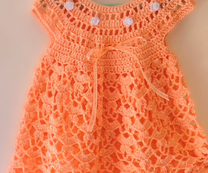 Crochet Fast And Easy Baby Dress