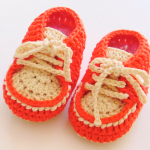 How To Crochet Baby Sneakers