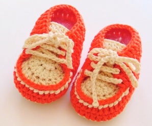 How To Crochet Baby Sneakers
