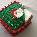 Crochet Santa Claus Box For Napkins