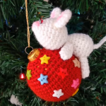 Crochet Lovely Christmas Ball Cover