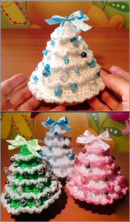 Crochet Lovely Christmas Tree