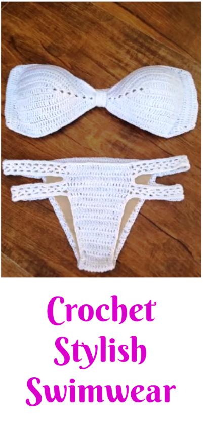 Crochet Stylish Swimwear
