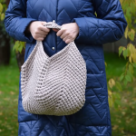 Crochet Slouchy Bag