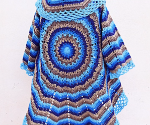 Crochet Fast And Easy Coat For Women