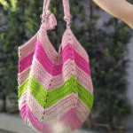 Crochet Stylish Beach Bag