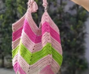 Crochet Stylish Beach Bag