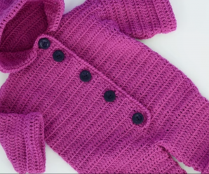 Crochet Lovely Baby Romper