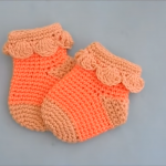Crochet Lovely Baby Socks