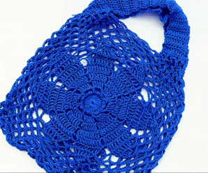 Crochet Fast And Easy Market Bag