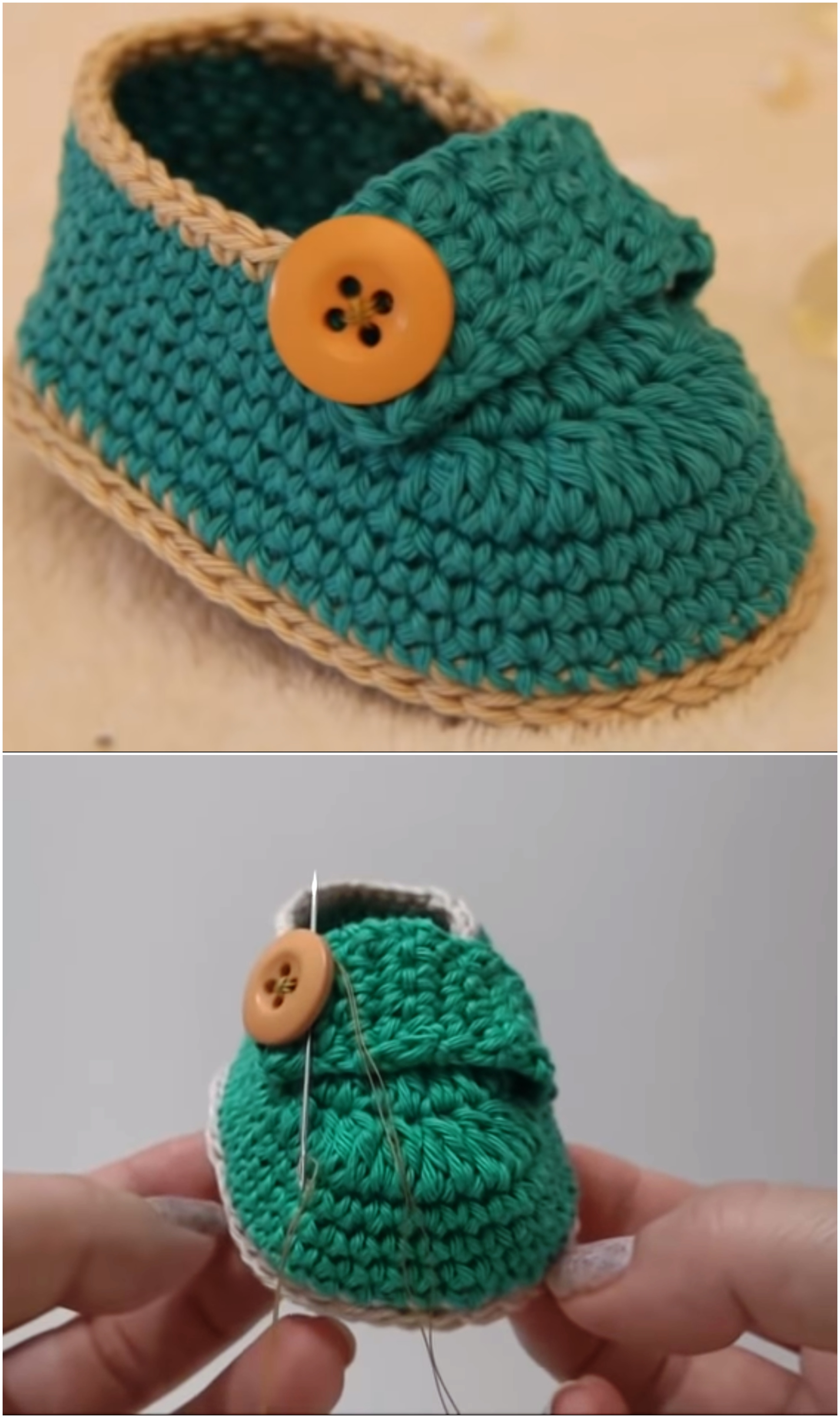 Crochet Charmful baby Shoes