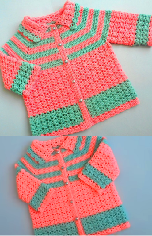 Crochet Easy Baby Sweater Cardigan Crochet Ideas