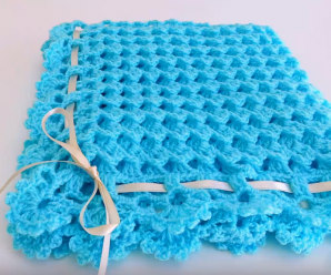 Crochet Fast And Comfortable Baby Blanket