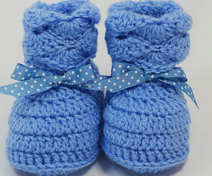 Crochet Quick And Easy Baby Booties
