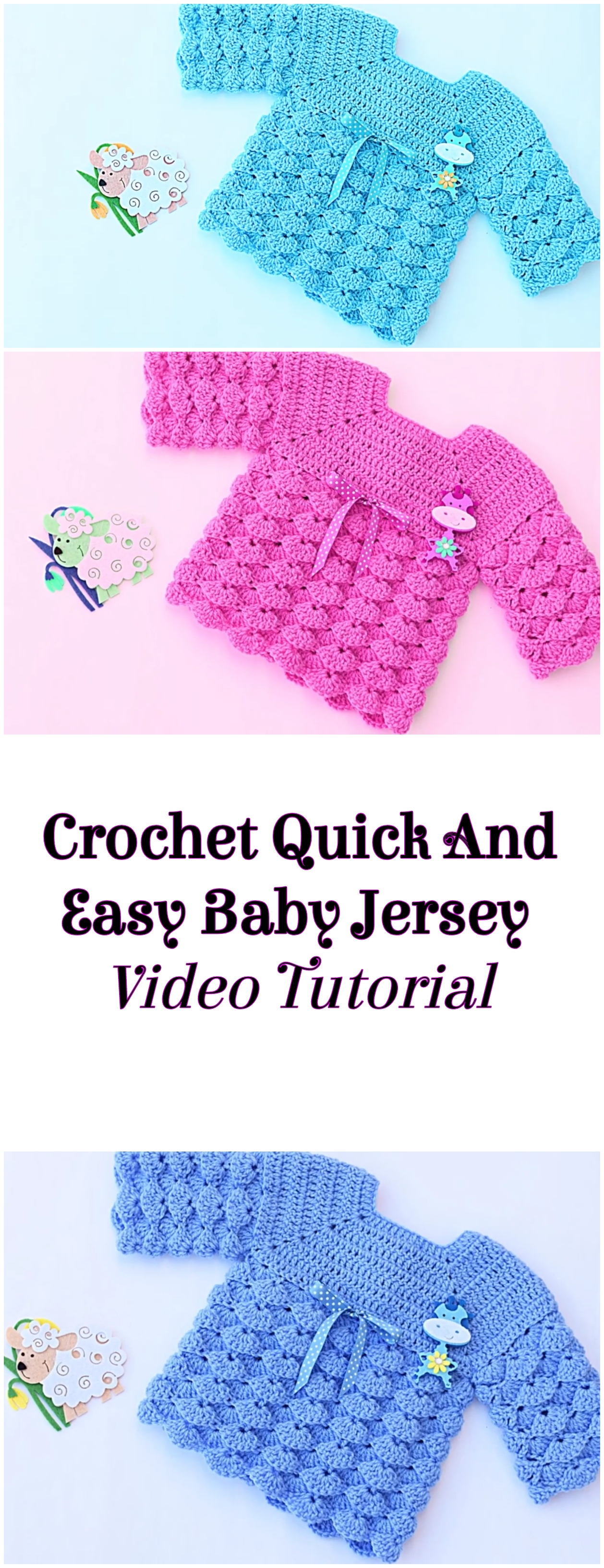 Crochet Quick And Easy Baby Jersey