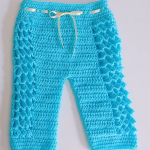 Crochet Baby Trousers