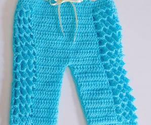Crochet Baby Trousers