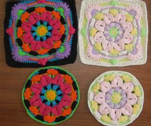 Crochet Layered Mandala Granny