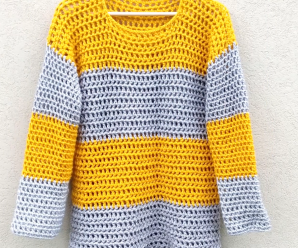 How To Crochet Stylish Sweater
