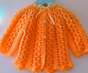 How To Crochet Baby Jacket