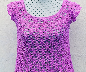 Crochet Fast And Easy Blouse For Women