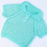Crochet Fast And Easy Baby Jersey