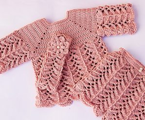 Crochet Fast And Easy Trousers For Baby